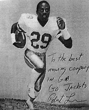 Robert Lavette: Former Dallas Cowboy and all time leading rusher in Georgia Tech history.